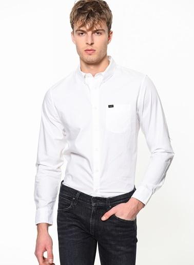 Lee Gömlek Beyaz